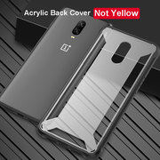 OnePlus 6T Military-Level Anti-drop Ultra High Protection Translucent Case