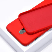 OnePlus 7T Pro Silicon Anti Slip Jelly Shockproof Case (Red)