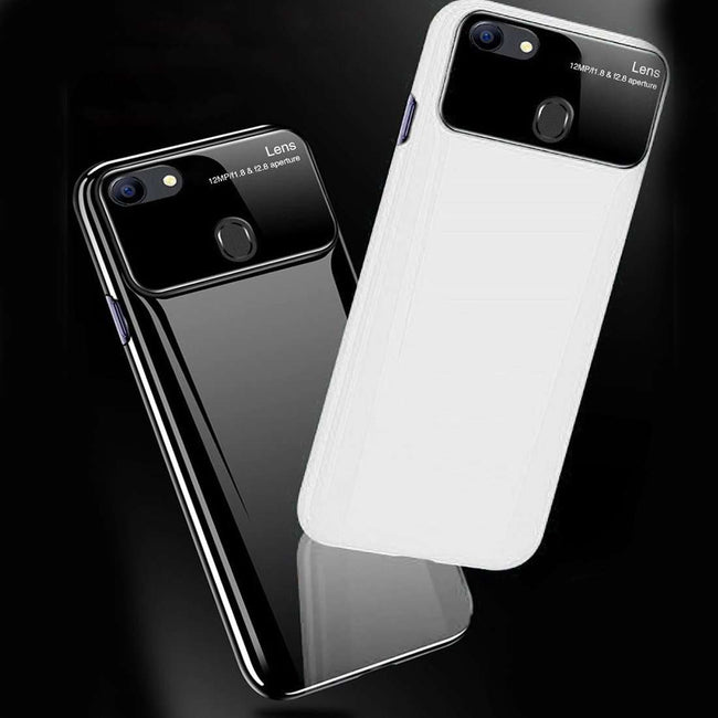 Oppo F7 Ultra Protection Polarized Mirror Effect Lens Hard Case