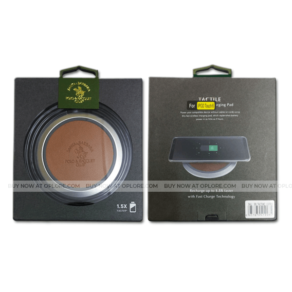 Polo® Santa Barbara Wireless Fast Charging Pad For iPhone, Galaxy & Qi Enabled Devices