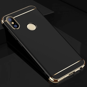 Redmi Note 6 Pro Luxury 3in1 Electroplated Matte Back Case
