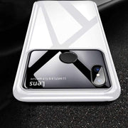 Galaxy M20 Luxury Mirror Effect Ultra Thin Lens Glossy Case