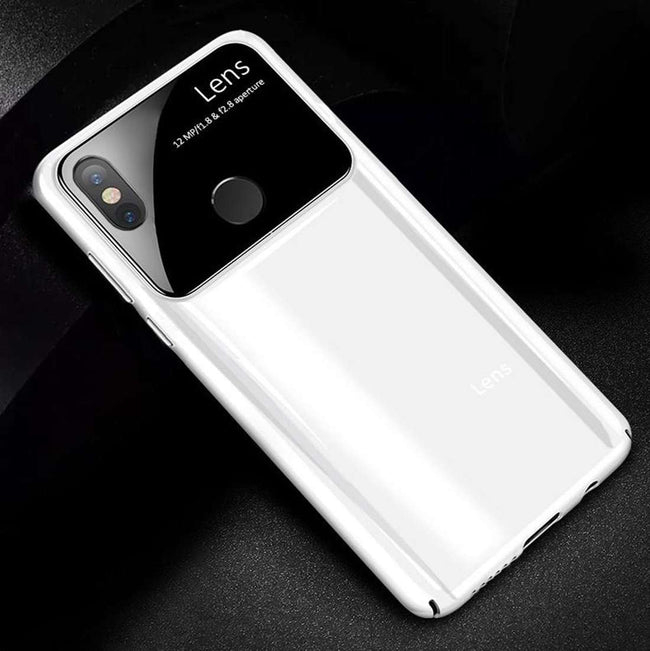 Redmi Note 5 Pro Polarized Lens Glossy Mirror PC Effect Back Case