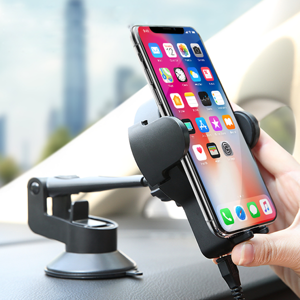 ROCK® W2 Pro Car Wireless Charging Stand For iPhone & Galaxy Models