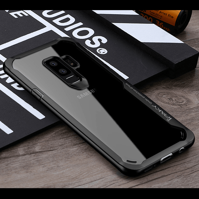 Galaxy S9 Plus Shockproof Transparent Eagle Back Case
