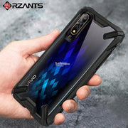 Rzants Vivo S1 Transparent Hard Shockproof Rugged Slim Back Case