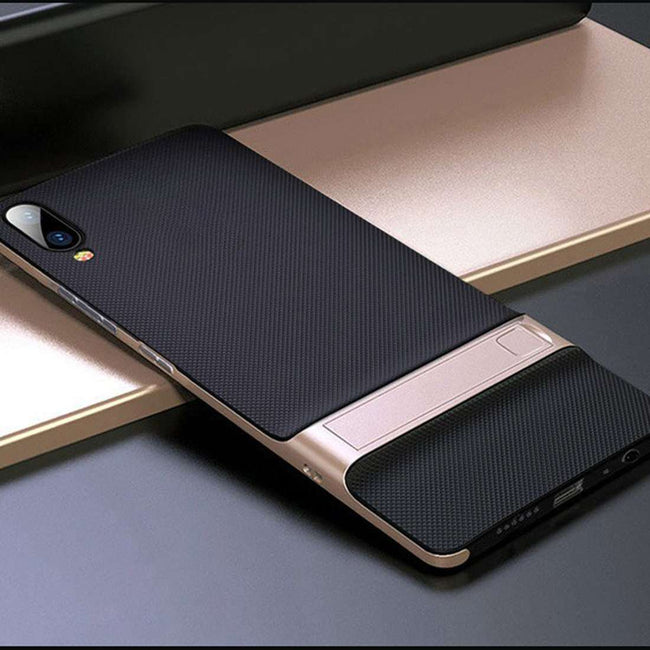 Vivo V11 Pro Dual Hybrid With KickStand Hard Case