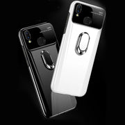 Galaxy M20 Polarized Mirror Effect Lens Ring Back Case