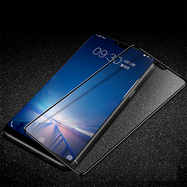 Vivo V9 Luxurious 5D Full Glue Tempered Glass