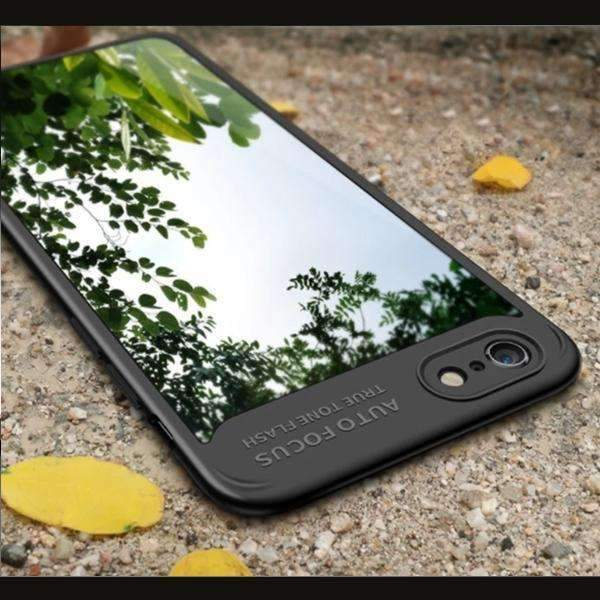 iPhone 7 Henks® Transparent Silicone Autofocus Case