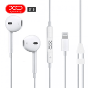 XO® S18 High Fidelity Sound Bluetooth Earphones For iPhone - White