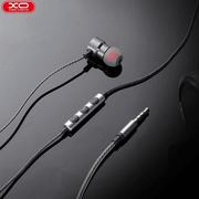 XO® Metal Magnetic Earphones Stereo Bass Headphones Headset Earbuds With Mic