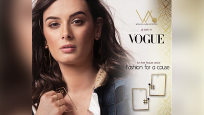 Vogue Feature with Evelyn Sharma - Fashion for a Cause