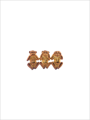 The three wise monkeys - Brooch