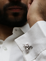 The Knight in Shining Armor - Cufflinks