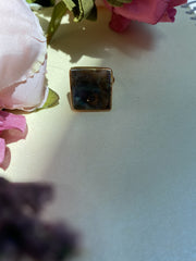 Real, Not Perfect - Square Locket