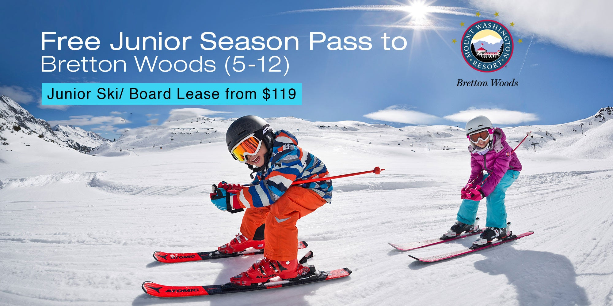 Junior & adult ski and snowboard lease program