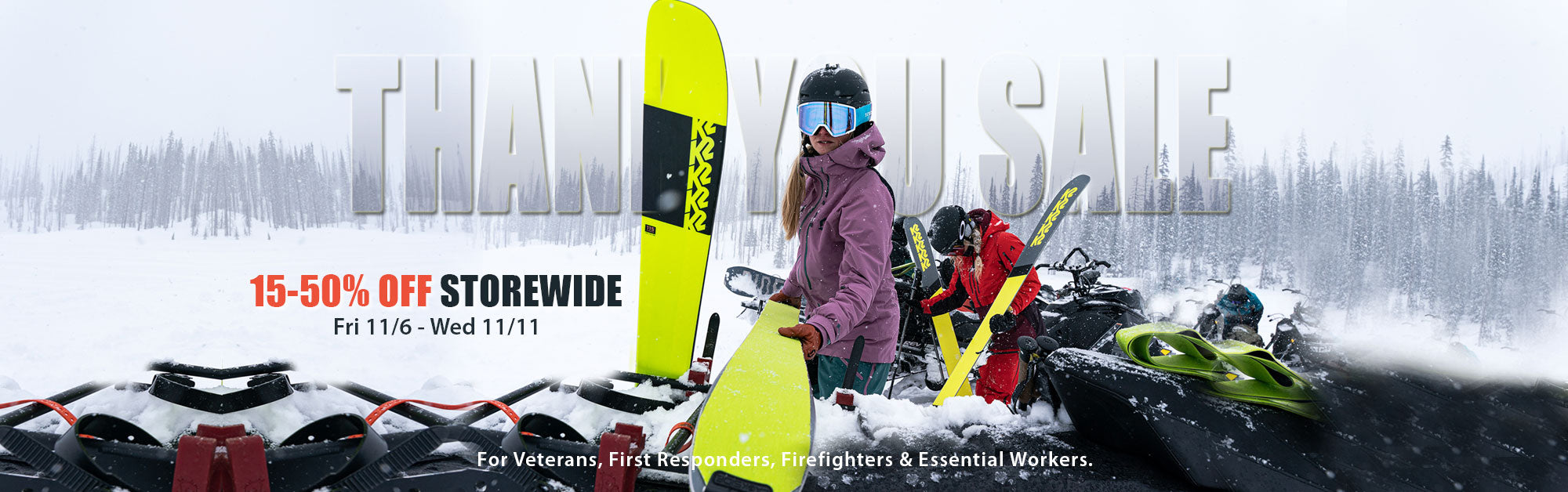 Sale up to 50% off at Proctor Ski in Nashua NH