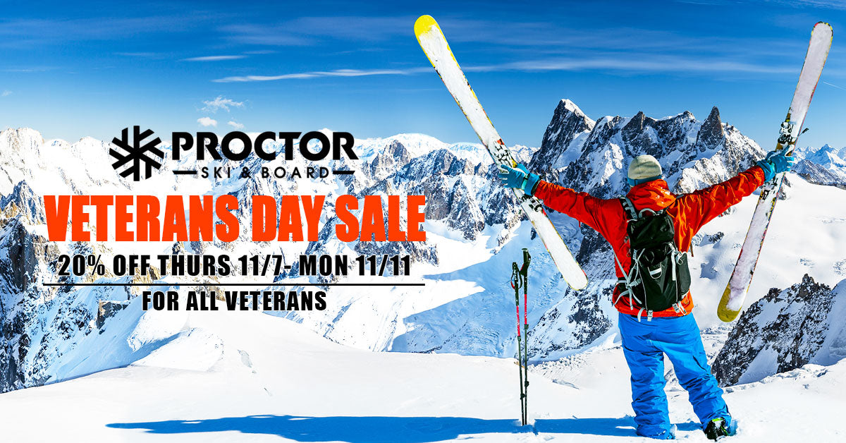 Veterans Day Ski Sale
