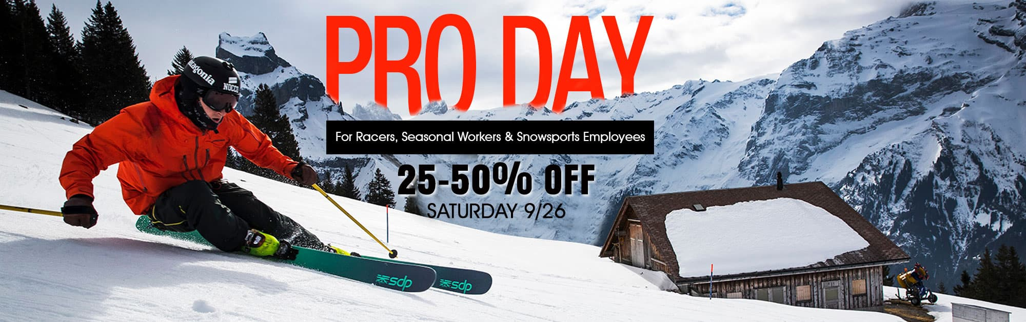 Pro Day 2020- ski Sale at proctor ski in Nashua NH