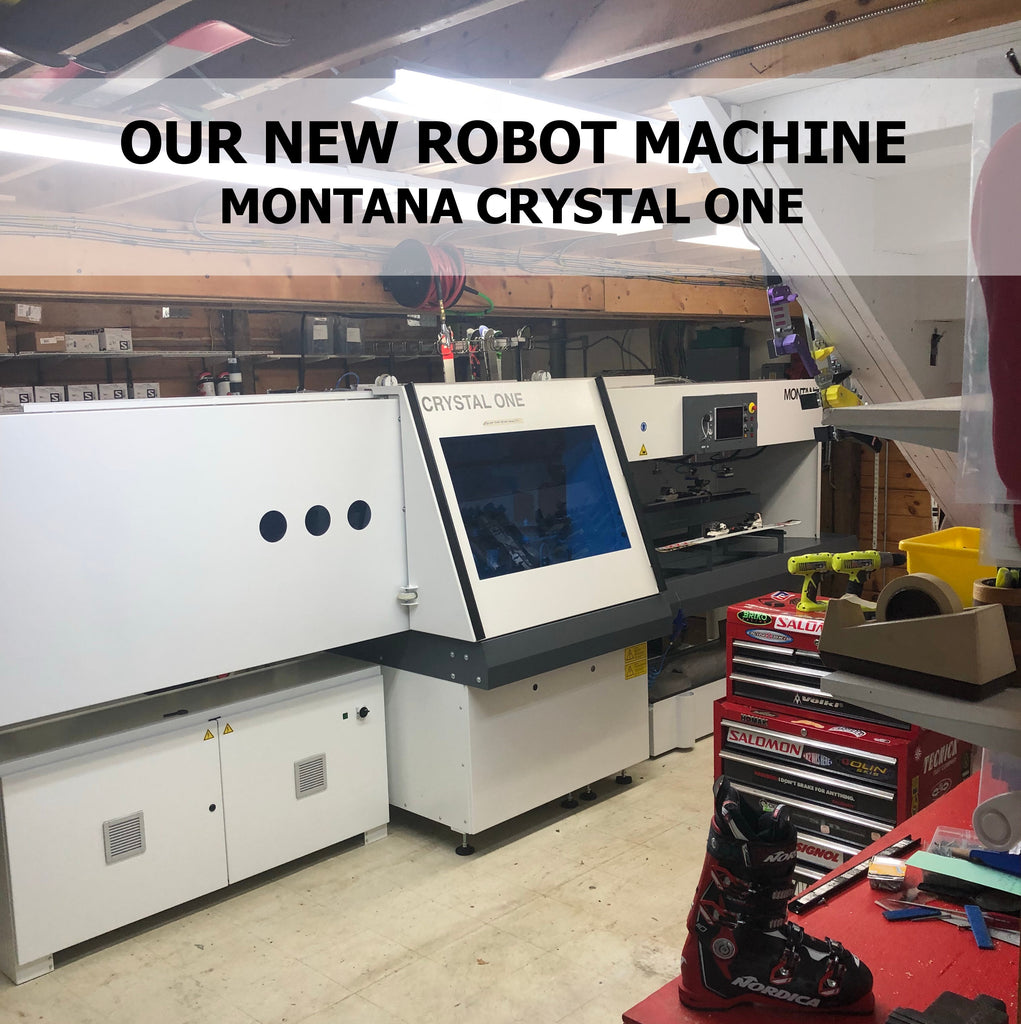 Montana Crystal One Machine- Ski/ Board Tune ups