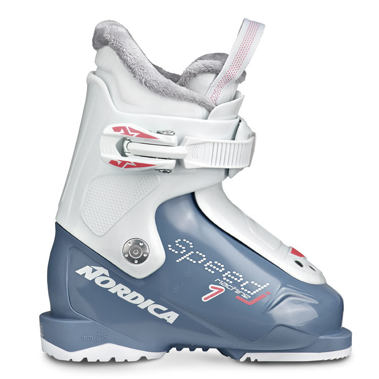 Nordica Speedmachine 1 tiny sizes for 9 up Blue white