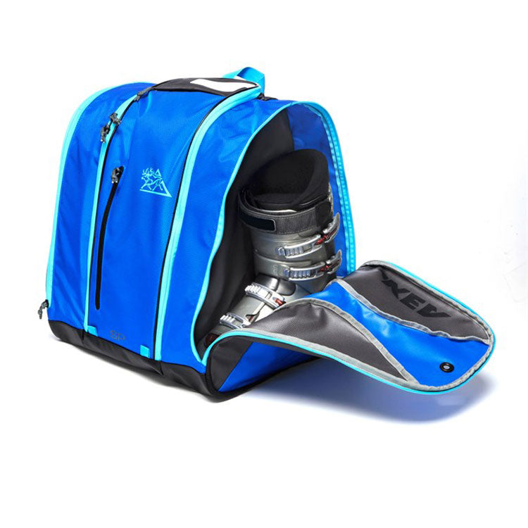 Kulkea Ski boot bag Ocean blue
