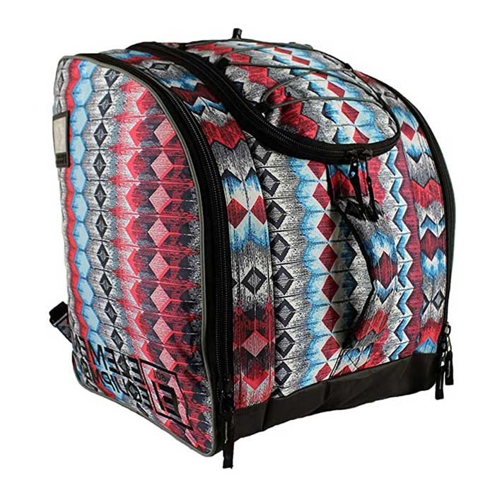 Athalon Deluxe Everything Boot Bag Aztec