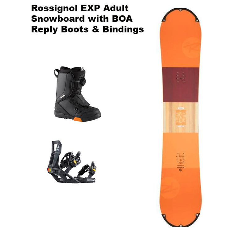 New Adult Rossignol Snowboard Lease