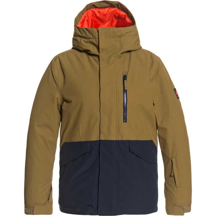 Quiksilver Junior Mission Solid Snowboarding Jacket 2021 | Boys