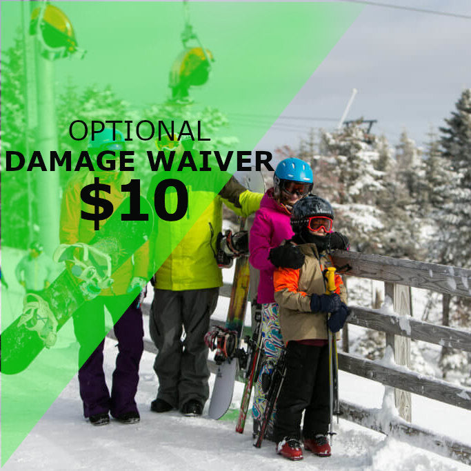 Snowboard Leasing Damage Waiver available at proctorski.com