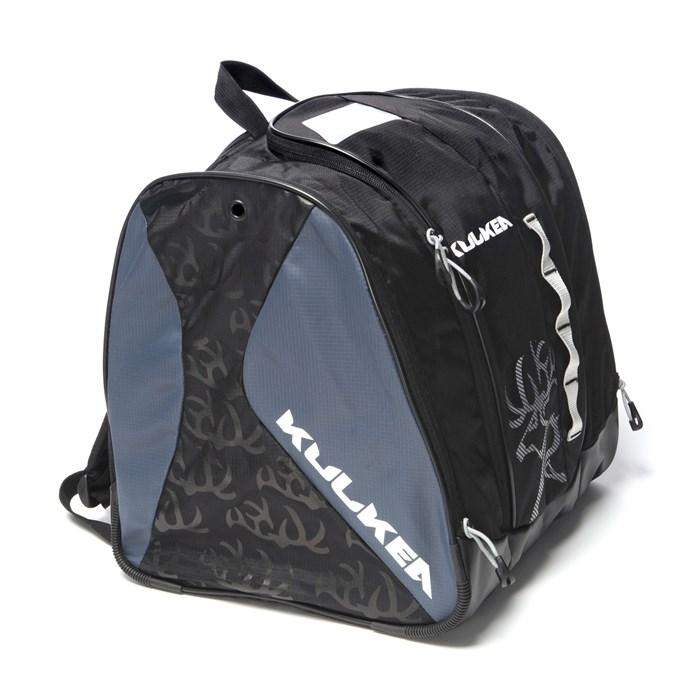 Kulkea Speed Star Black Grey Junior Boot Bag