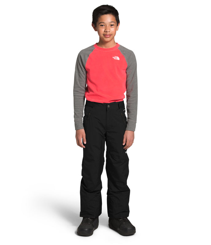 The North Face Freedom Insulated Snow Pants for boys in Black at Proctor Ski in Nashua, NH