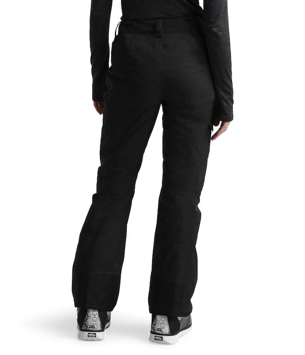 The North Face Women's Freedom Insulated Ski Pants Black (back) at Proctor Ski in Nashua, NH