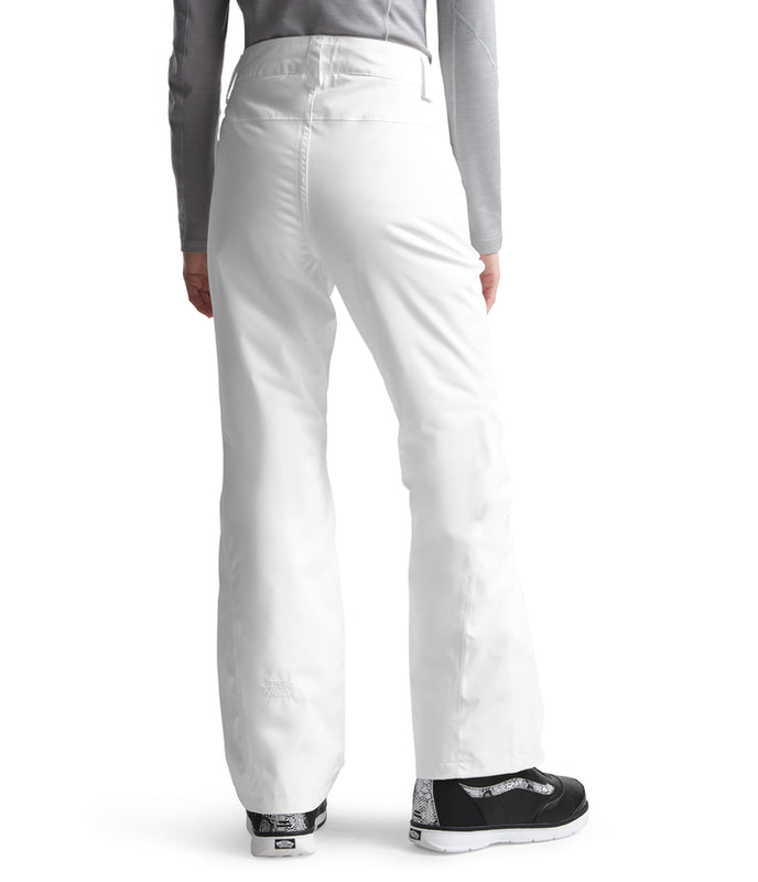 The North Face Sally Ski Pant White (back) at Proctor Ski  in Nashua, NH