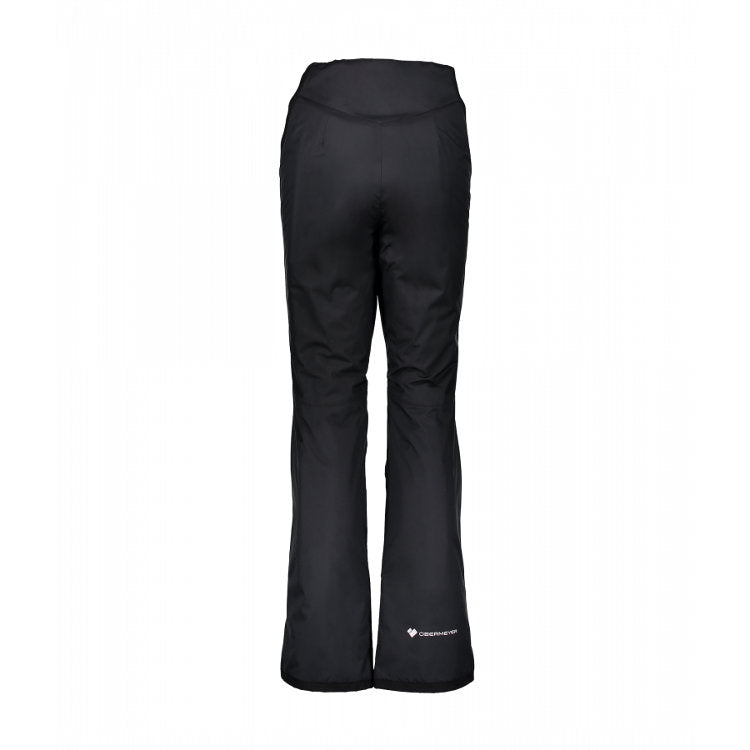 Obermeyer Sugarbush Pant (petite) shown in Black- Back