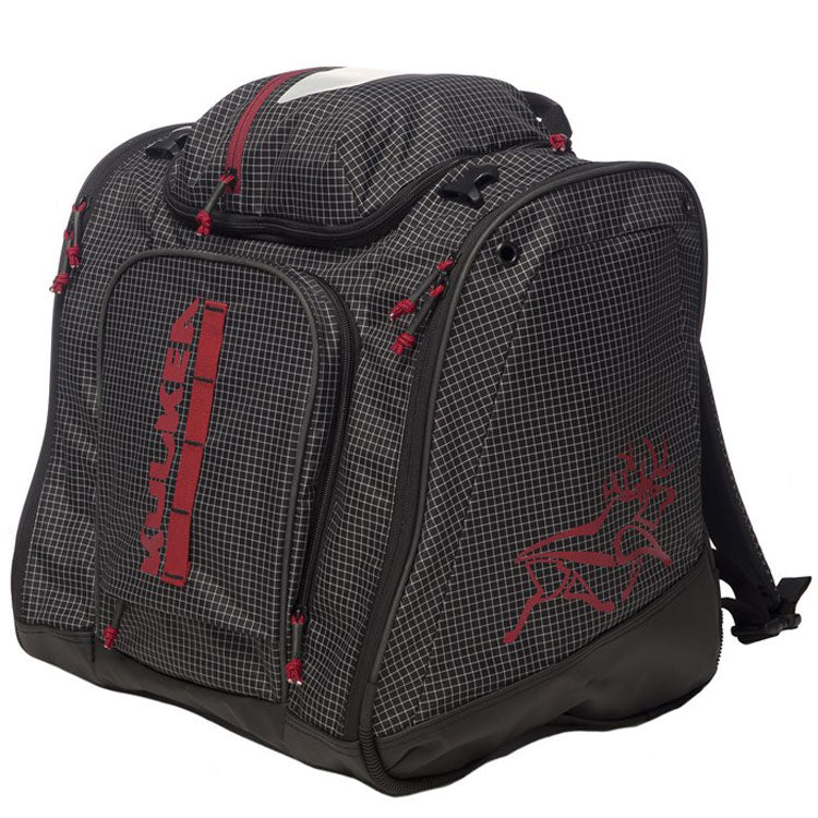 Kulkea Powder Trekker Bootbag Black/Red
