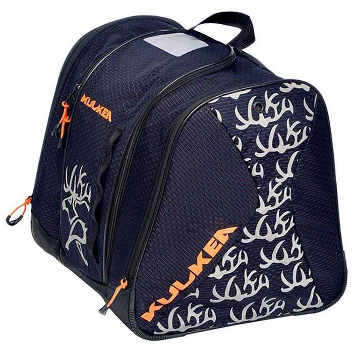 Kulkea Speed Star Navy Blue/Orange Junior Boot Bag