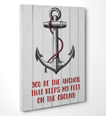 "Quadro in Tela Canvas ""Anchor"" - LaMAGLIERIA"