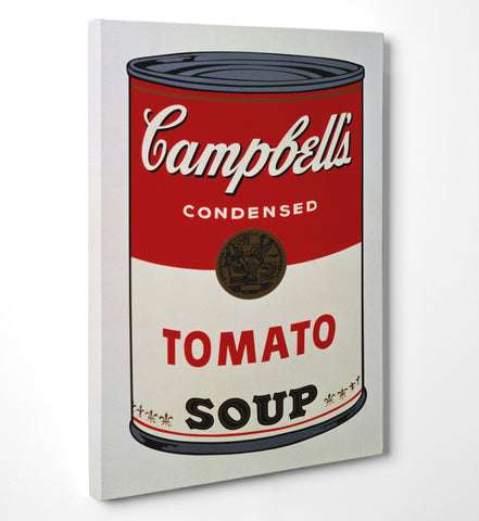 "Quadro in Tela Canvas ""Andy Warhol Campbells"" - LaMAGLIERIA"