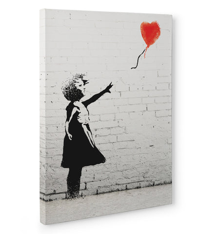 "Quadro in Tela Canvas ""Banksy Balloon Girl"""