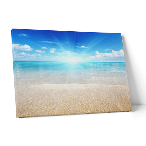 "Quadro in Tela Canvas ""Beach Horizon"" - LaMAGLIERIA"