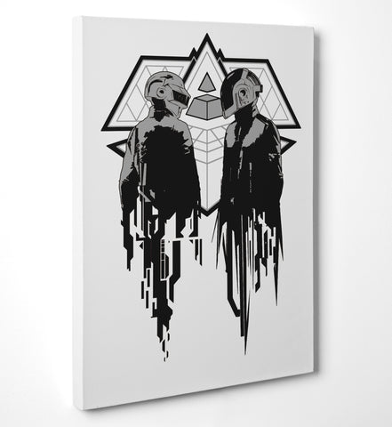 "Quadro in Tela Canvas ""Daft Punk"" - LaMAGLIERIA"