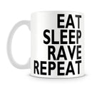 Tazza Mug EatSleepRaveRepeat