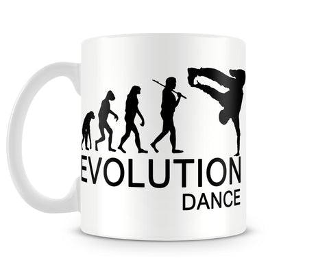 Tazza Mug EvolutionBreakdance