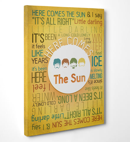 "Quadro in Tela Canvas ""Here Comes The Sun"" - LaMAGLIERIA"