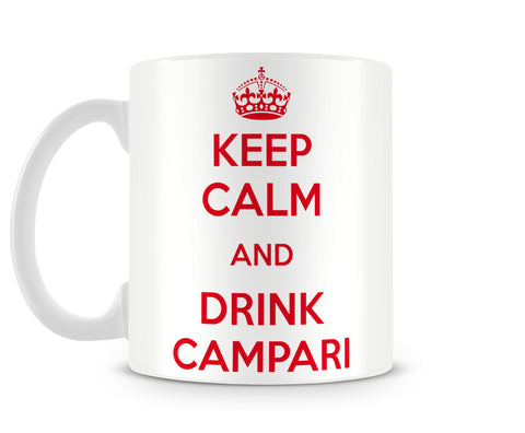 Tazza Mug KeepCalmAndDrinkCampari