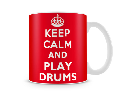 Tazza Mug KeepCalmAndPlayDrums