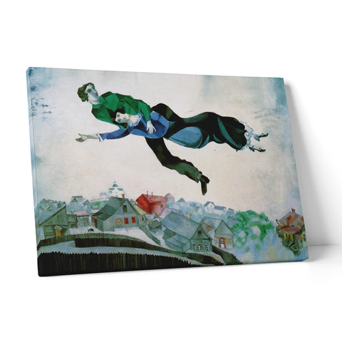 "Quadro in Tela Canvas ""Marc Chagall Over The Town"" - LaMAGLIERIA"
