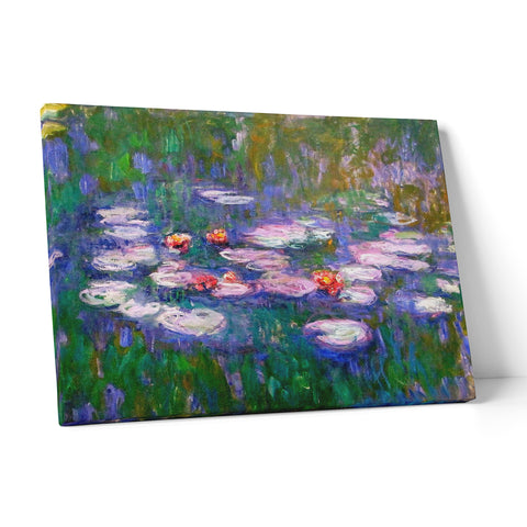 "Quadro in Tela Canvas ""Monet Water Lilies"" - LaMAGLIERIA"
